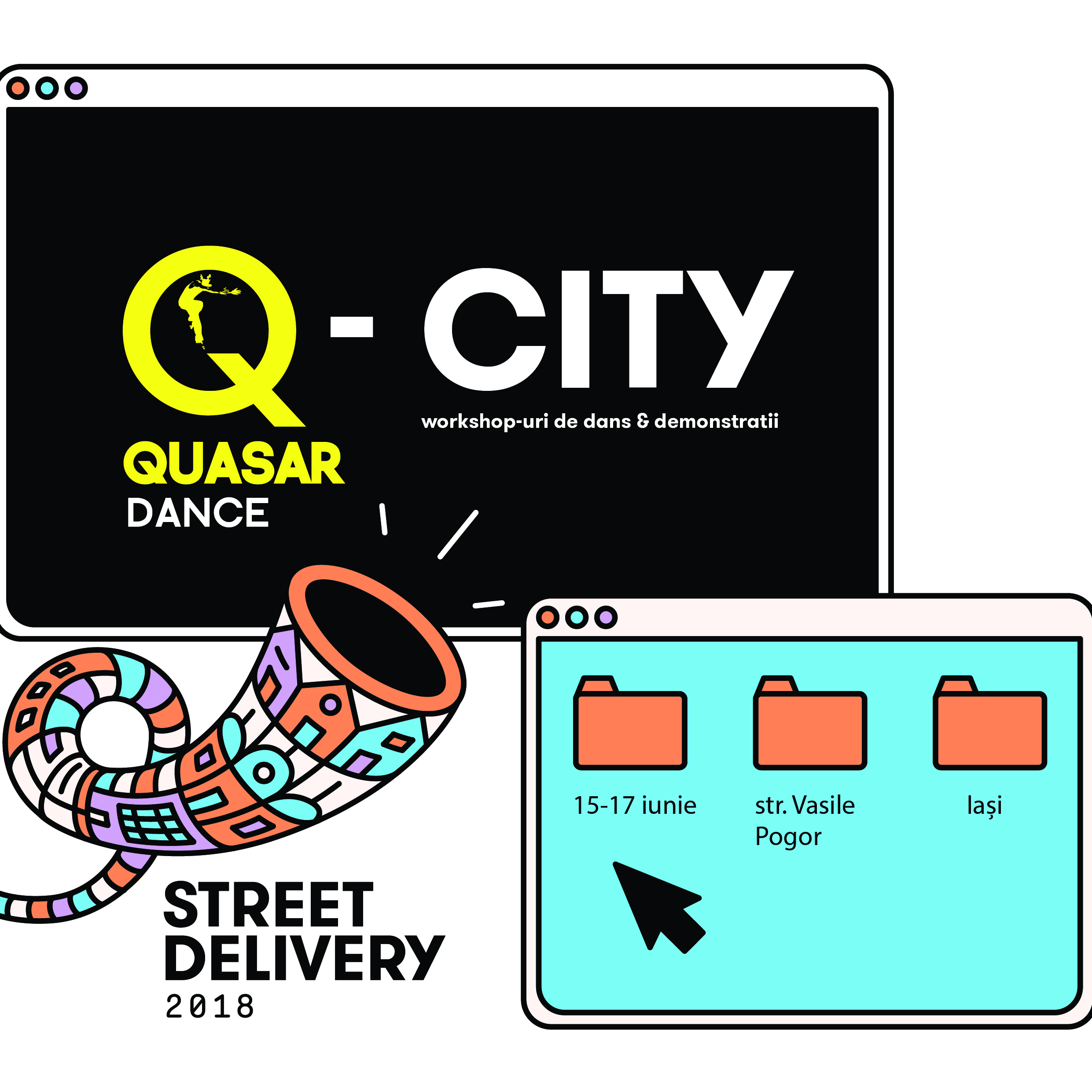 Q-City at Street Delivery