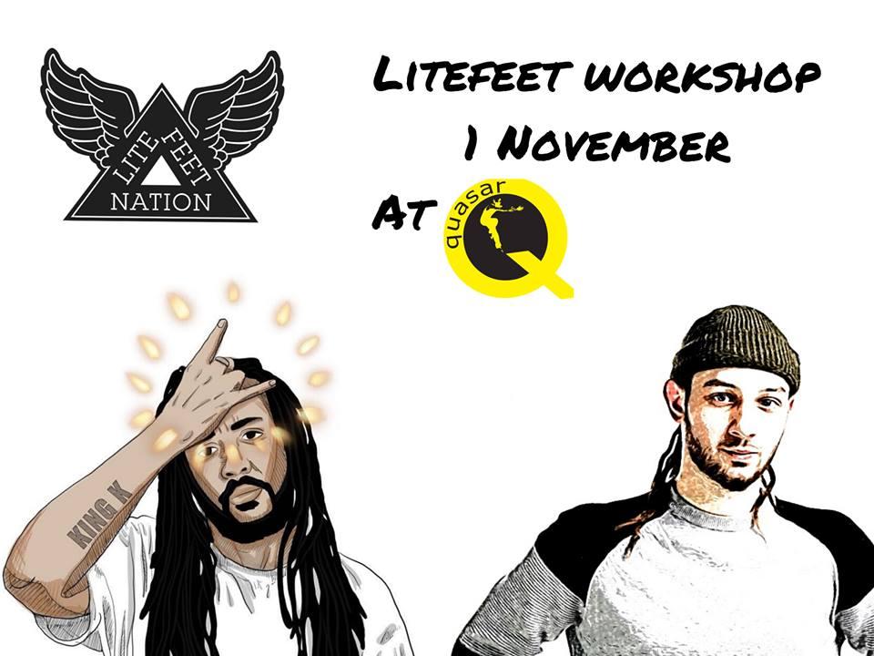 LiteFeet Workshop