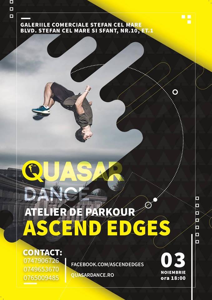 Atelier de parkour // Ascend & Quasar